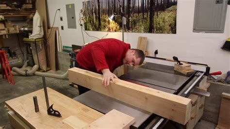 roubo style woodworking bench part  youtube