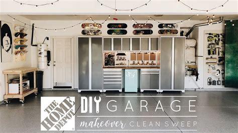 diy garage makeover youtube