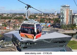 The Emirates Airline Cable Car Going Over The Crystal