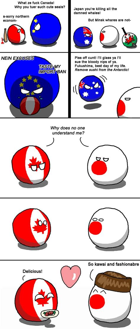 siege social planet sushi quot unlikely quot canada by fedcom polandball