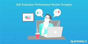 Self Evaluation Performance Review Template Process Street
