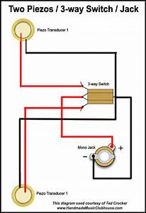 Electric Guitar Piezo Wiring Diagrams