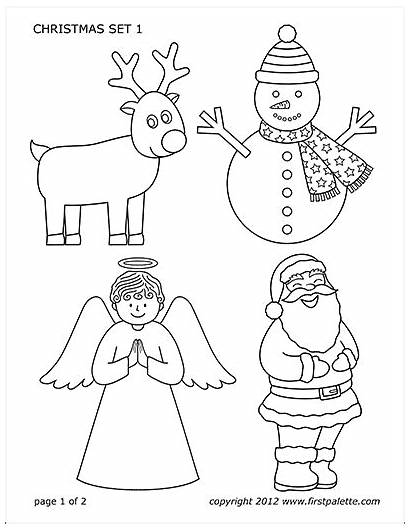 Christmas Printable Template Pdf Printables Coloring Pages