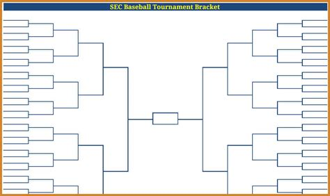 tournament bracket template bracket exle images search