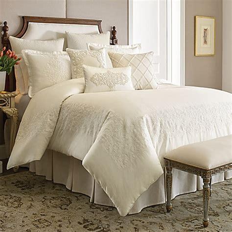 ivory comforter set buy croscill couture 174 hepburn comforter set in ivory