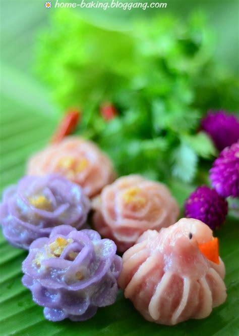 Chor Muang (Steamed Flower Shaped Dumplings)  ??????????