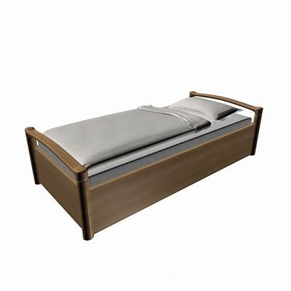 Single Bed Beds 3d
