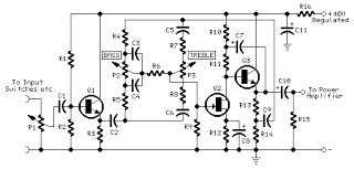 Audio Kit Preamplifier With Tone Control