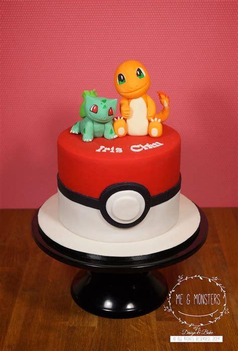 pokemon  cake bulbasaur  charmander cakes  kids