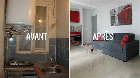 renover sa cuisine avant apres avant après créer une impression d 39 espace dans un studio de 19 m2
