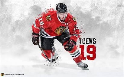 Toews Jonathan Blackhawks Chicago Wallpapers Nhl Hockey