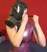 Gas mask fetish women
