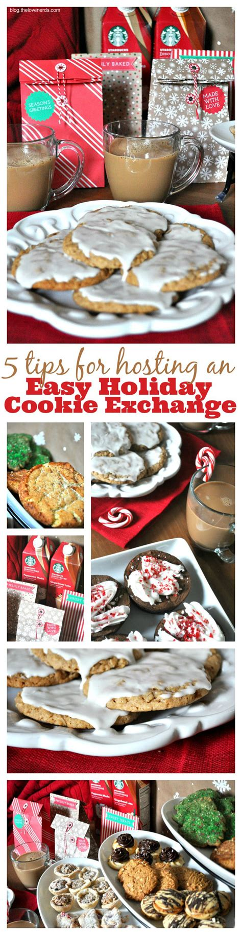 5 Tips For Hosting A Holiday Cookie Exchange Party  The Love Nerds