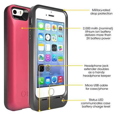 otterbox iphone 5s otterbox resurgence power battery for