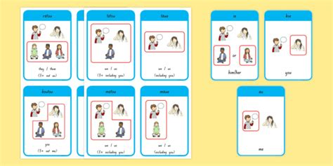 Learn Personal Pronoun Flashcards Te Reo Māorienglish New