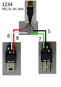 Usb Cord Pin Diagram  U2013 Dealextreme Forum