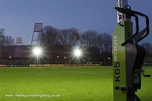 Portable football floodlights ritelite lighting