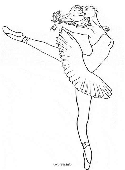 bailarina  colorir  imprimir muito facil colorir