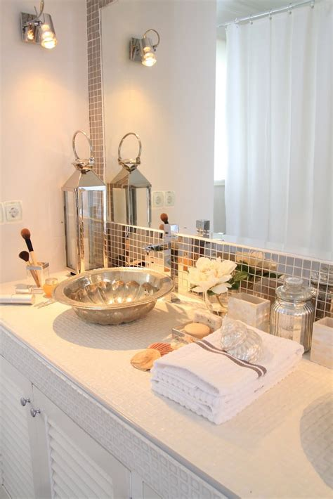 Bathroom Mirror Tiles by Replace Boring Tiles With Trendy Mirror Tiles