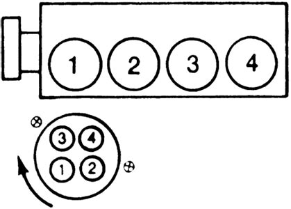 schematics  diagrams  ford ranger spark plug firing order