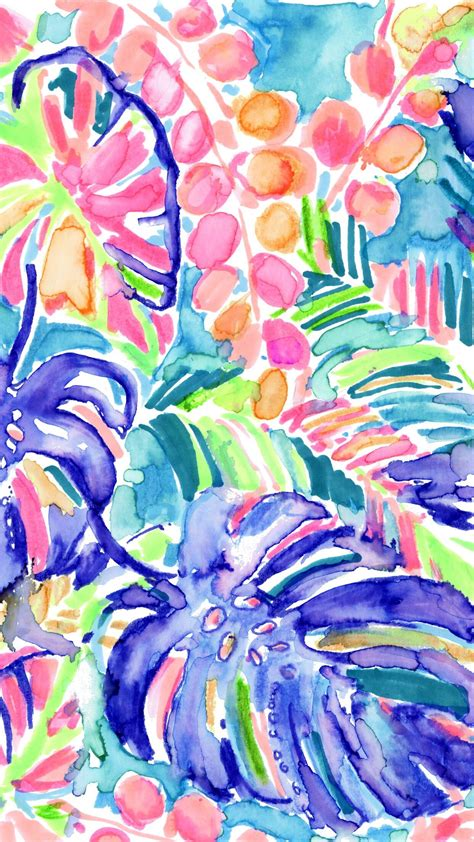 foto de Lilly Pulitzer monstera tropical leaves Lilly pulitzer