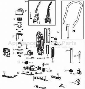 35 Bissell Vacuum Parts Diagram