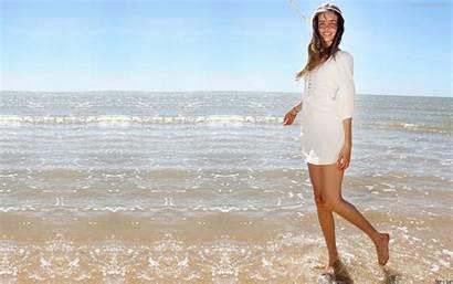 Lucas Isabel Beach Monika Wallpapers Babe Pietrasinska