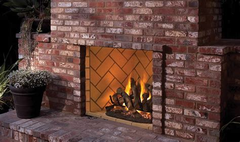 vent free outdoor fireplace superior 50 inch real masonry vent free outdoor fireplace