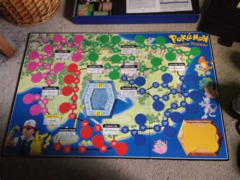 Board Game Form Pokemon Master Trainer  Pokémon Amino