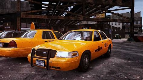 GTA IV 2003 Ford Crown Victoria V.2.0 Taxi - Taxi [1080p ...