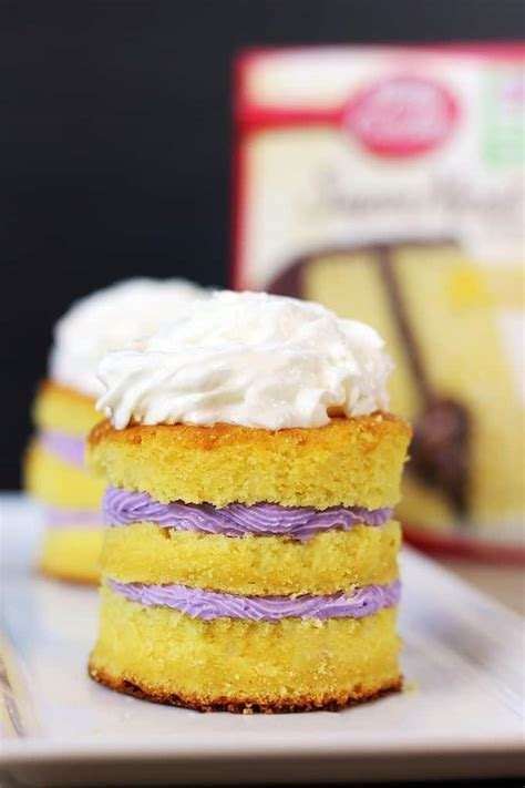 boxed cake mix hack tastes   paid   slice