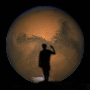 Waving goodbye to Mars..? | Cumbrian Sky