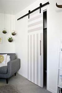 Sliding Door Solution for Small Spaces – A Beautiful Mess