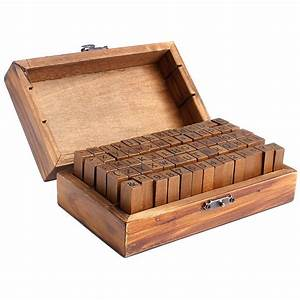 multi purpose wood rubber stamps alphabet letter number With large letter stamps for wood