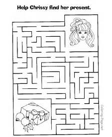 Maze Coloring Pages Printable