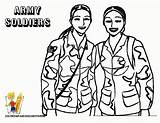 Coloring Army Pages Veterans Printable Soldier Soldiers Military Female African Child American Christmas Boys Drawing Sheets Woman Uniform Operation Yescoloring sketch template
