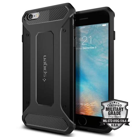 spigen tough armor black iphone 7 iphone 6s plus rugged armor spigen inc