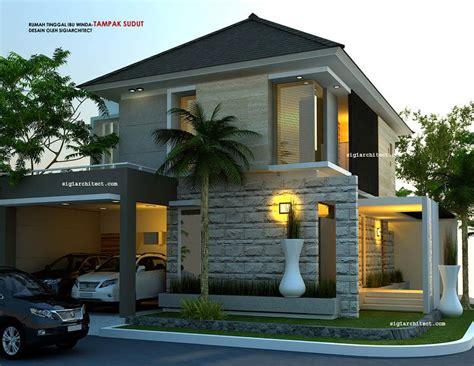 minimalist desain rumah hook amazing architecture