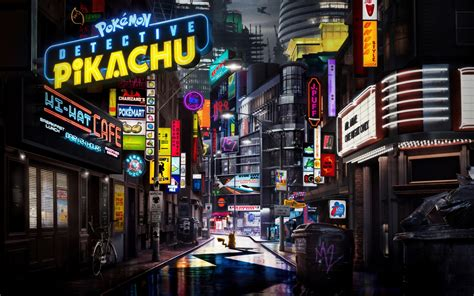 wallpaper pokemon detective pikachu animation