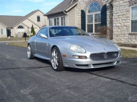 airbag deployment 2005 maserati gran sport head up display purchase used silver maserati gransport 2005 in mansfield ohio united states for us 25 000 00