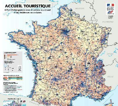 Carte De Touristique Interactive by Veille Info Tourisme Cartes De L Accueil Et De La