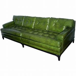 monteverdi young green leather sofa at 1stdibs With green leather sofa