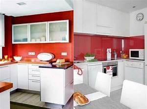 Farbgestaltung Küche Wand : farbgestaltung f r wei e k che 32 ideen f r wandfarbe ~ Sanjose-hotels-ca.com Haus und Dekorationen
