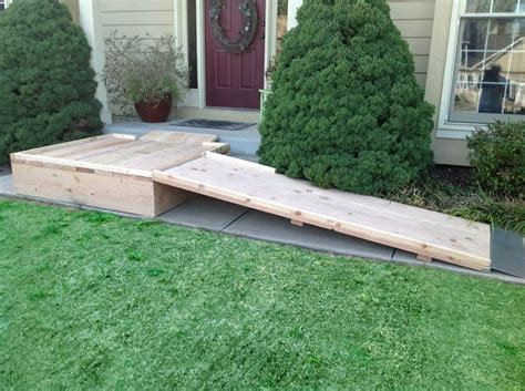 build  wheelchair ramp images  pinterest patio flooring  walmart  day care