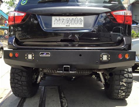 Isuzu Mux Modification by Doug Kramer S Isuzu Mu X Is The Most Badass Suv Out There
