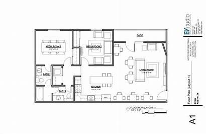 Layout Office Plan Sketchup Ruang Kantor Sketsa