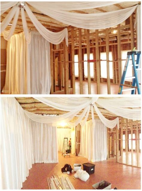 Bedroom Decorating Ideas Arty To by House In An Unfinished Basement Drape Can Really