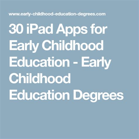 Here are some of the best ipad productivity apps designed to help you get more done. 30 iPad Apps for Early Childhood Education