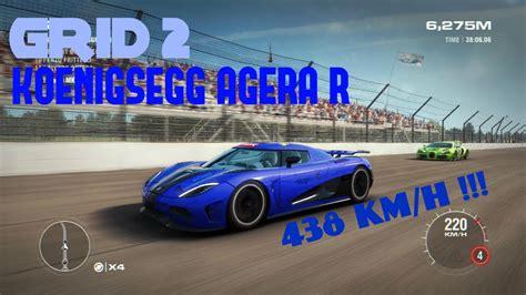 Koenigsegg Agera R Test Drive Top Speed Gameplay