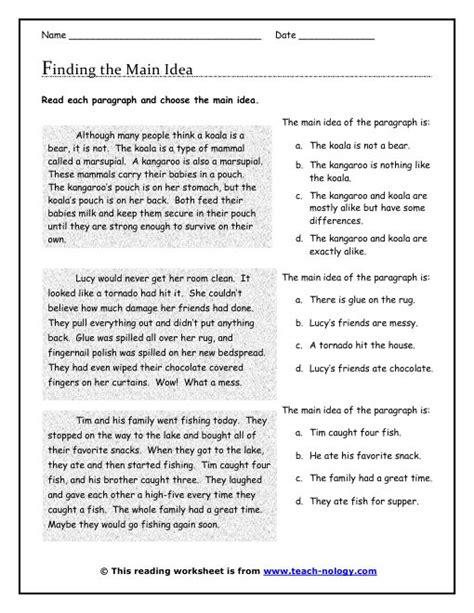 25 best ideas about teaching main idea on pinterest